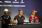 Vettel ve Hamilton'ın basın toplantısında verdiği cevaplar