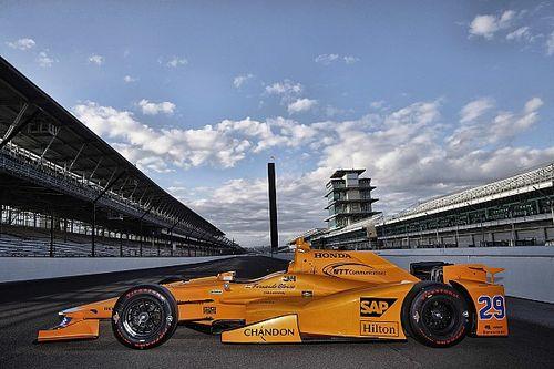 Así luce el coche con el que correrá Alonso en Indianápolis