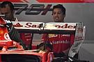 Ezzel a hátsó szárnnyal készül az olasz futamra a Ferrari