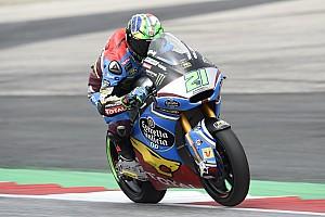 Moto2 Verslag vrije training Morbidelli voor Luthi en Marquez in warm-up GP Oostenrijk