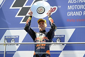 Moto3 Race report Australian Moto3: Binder wins crash-affected race at Phillip Island