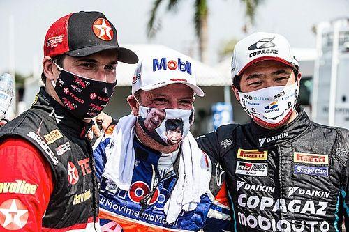 Suzuki celebra 1ª vitória, Barrichello vai à ponta e Piquet emplaca terceiro pódio