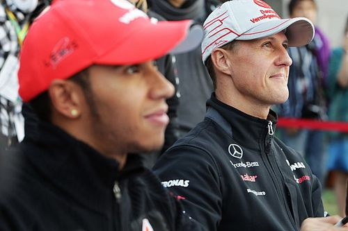 Schumacher worked harder, Hamilton has more talent - Massa