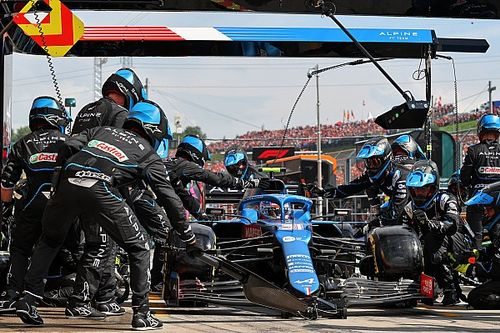 """The """"heart-breaking"""" call that led to Ocon's Hungarian GP triumph"""