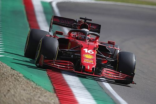 "Leclerc: ""Difficult to believe"" Ferrari so close to top teams at Imola"
