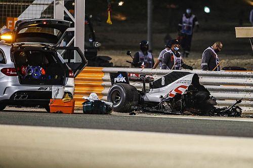 Ricciardo detona transmissão da F1 por replays do acidente de Grosjean