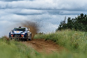 WRC Leg report Poland WRC: Tanak mistake gives Neuville big lead
