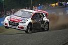 World Rallycross Peugeot conferma l'impegno nel Mondiale Rallycross e rinnova Loeb