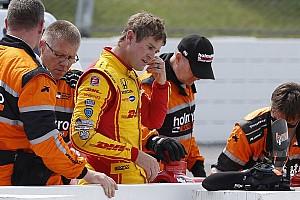 IndyCar Новость Хантера-Рея выписали из больницы, его участие в гонке под сомнением