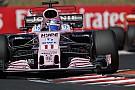 Force India y Sergio Pérez ven cercano subir al podio