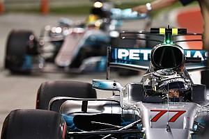 Formule 1 Réactions Mercedes: Une première ligne Bottas-Hamilton,