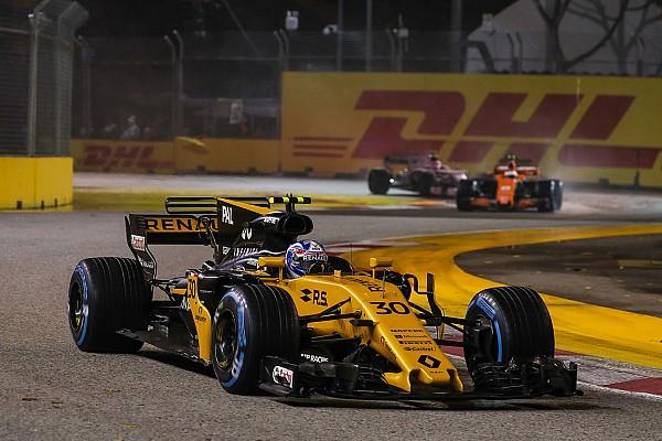Formula 1 Palmer: Renault'dan başım dik ayrılmak istiyorum