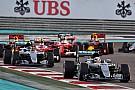 Formel 1 in Abu Dhabi: Das Rennergebnis in Bildern