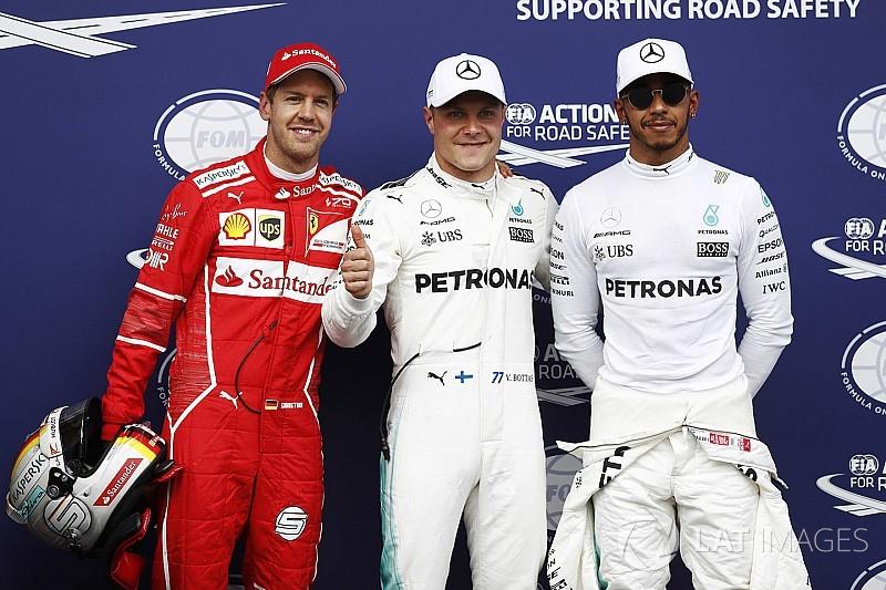 Bottas le ganó la pole a Vettel por muy poco en Austria