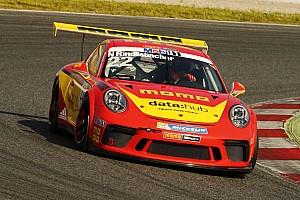 Porsche Supercup News Nico Rindlisbacher: Schweizer  Pilot in legendären Momo-Farben