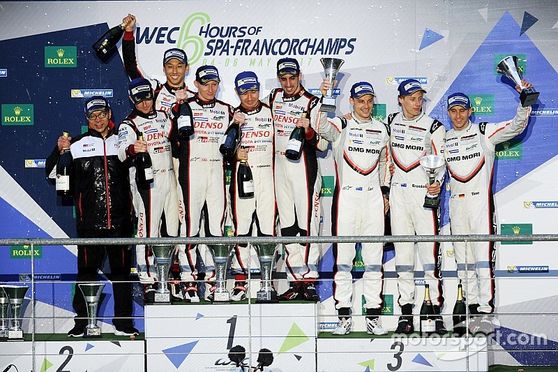 【WEC】トヨタ嵯峨氏「レースは問題なし。戦略も計画通りに進めた」