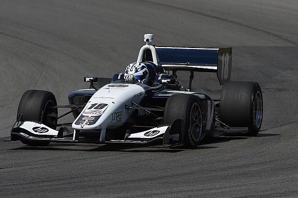 Kaiser leads Urrutia in Indy Lights practice