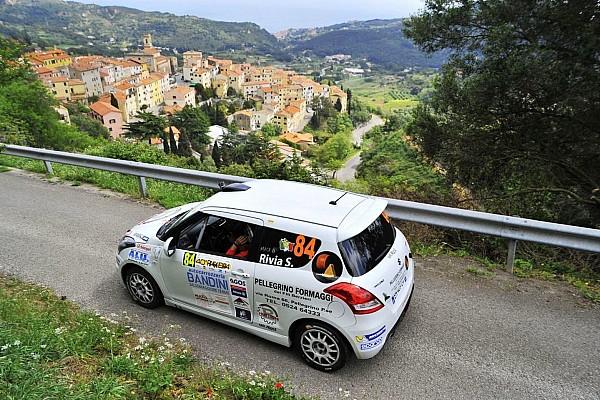 Suzuki Rally Cup: primo successo per Rivia e Bertonasco all'Elba