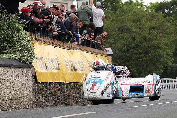 Road racing Race report Isle of Man TT: Birchalls claim Sidecar double with new record