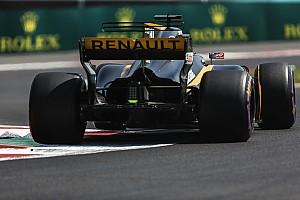Hulkenberg, Renault'daki ilk yılından memnun kaldı