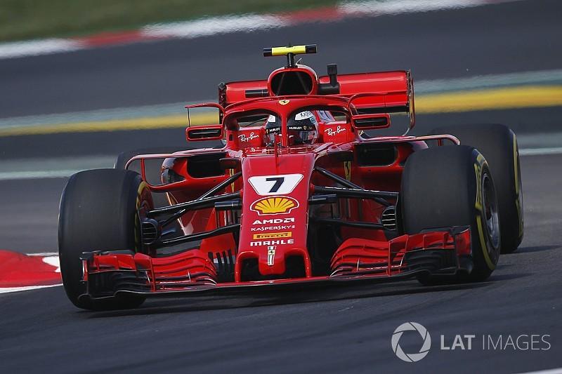 Ferrari to replace Raikkonen's engine after FP2 issue