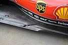 Érdekes nyílásokkal operál a Ferrari az SF71H padlólemezén
