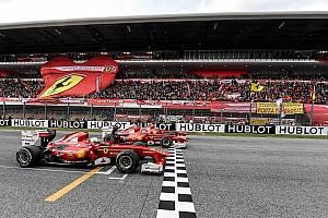 Quand les F1 historiques de Ferrari sont de sortie!