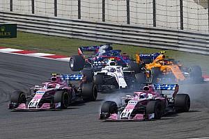 Fórmula 1 Noticias Force India dice a Pérez y a Ocon que choquen con otros pilotos antes que entre sí
