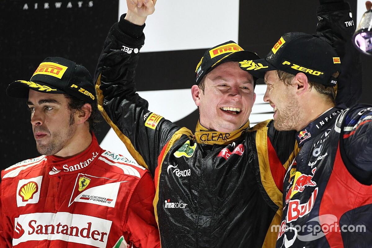 GALERÍA: Los ganadores del GP de Abu Dhabi de F1