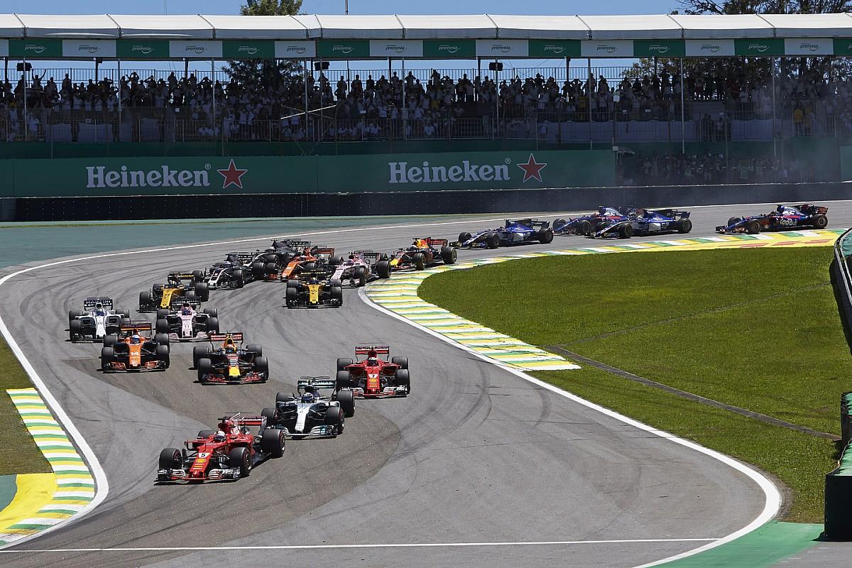 Los horarios de la penúltima cita de la F1 2018 en Brasil