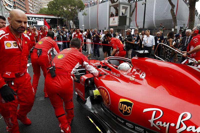Kínos Ferrari baki, már a versenyhétvége előtt