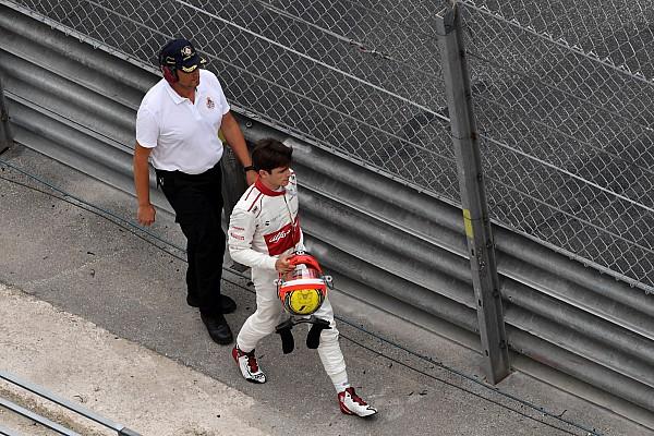 Formule 1 Réactions Leclerc trahi par ses freins dans le crash avec Hartley