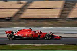 Fórmula 1 Crónica de test Vettel el más rápido en la mañana de Barcelona