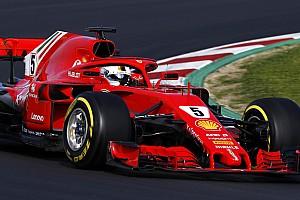 F1 テストレポート マクラーレン、またもトラブル。トロロッソは82周走行、首位ベッテル