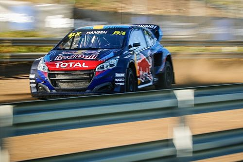 Spain WRX: Timmy Hansen claims first win for a year