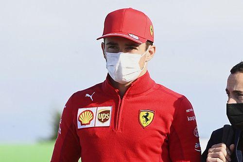 A Ferrari is köszöntötte a ma 24 éves Leclercet