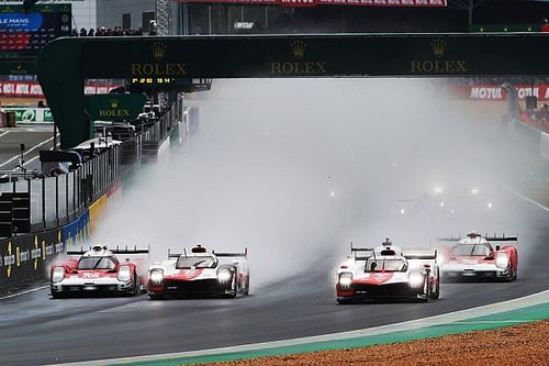 """بويمي: سيارة تويوتا رقم 8 كانت """"محظوظة للغاية"""" مع حادثة انطلاقة سباق لومان 24 ساعة"""