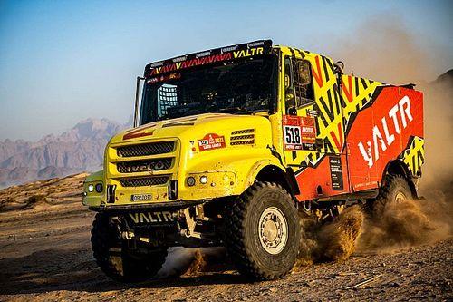 Valtr zakończył Dakar w szpitalu