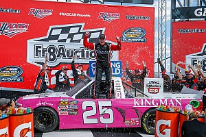 Timothy Peters wins crash-filled Truck race at Talladega
