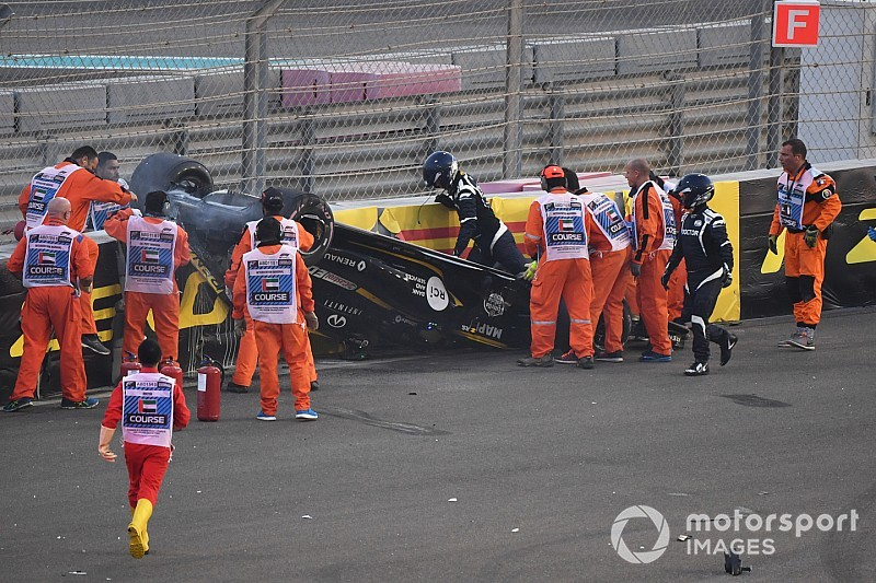 Halo did not compromise Hulkenberg extraction - Whiting
