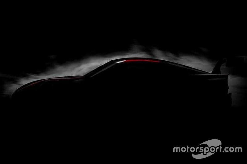 Tampilan awal Toyota Super GT terbaru