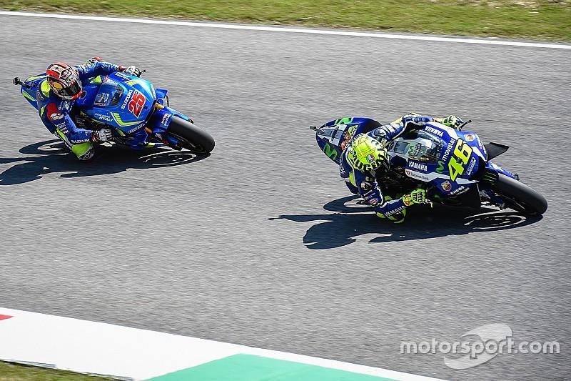 Valentino Rossi: Ja, ich habe bei Vinales abgeschrieben