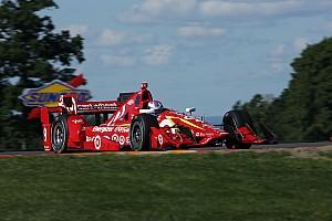 IndyCar Отчет о тренировке Диксон показал лучшее время в третьей тренировке