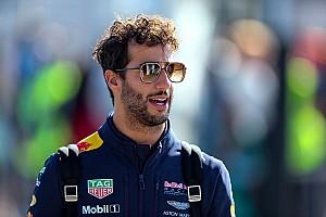 Formule 1 Actualités Ricciardo: Red Bull doit jouer le titre en 2018 pour que je reste