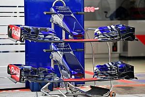 Forma-1 Elemzés A Toro Rosso dilemmája: Melyik lesz a jó első szárny?