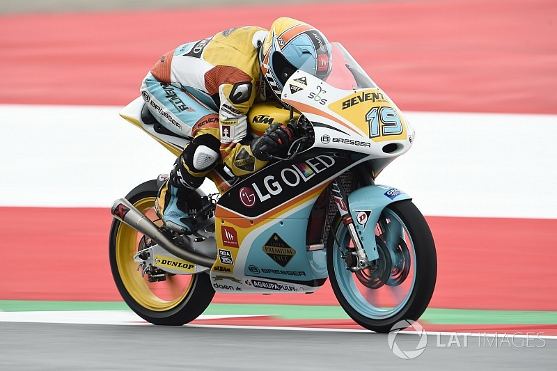 In Austria arriva la seconda pole di fila di Rodrigo. Bastianini 4°