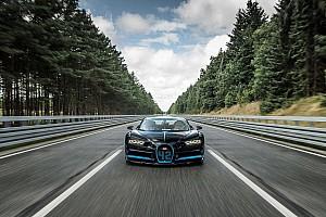 Vídeo: un Bugatti Chiron completa un cuarto de milla en 9,9 segundos