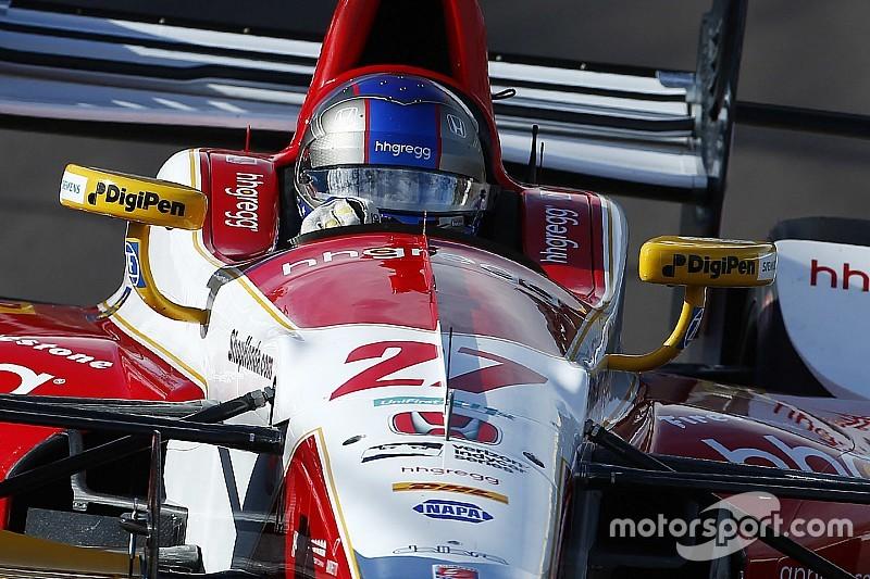 Гран Прі Сент-Піт: Андретті виграв першу практику