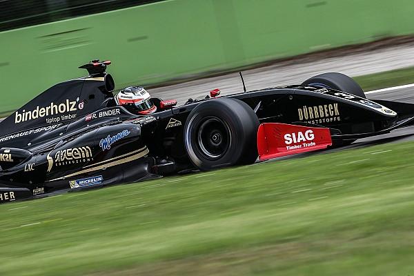 Formula V8 3.5 Reporte de la carrera Binder gana interinamente en Monza y Celis en cuarto