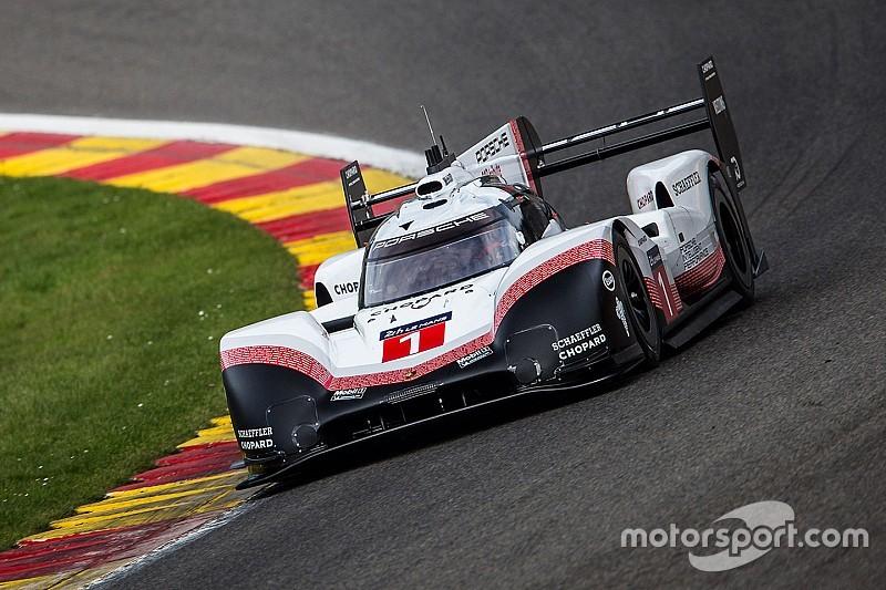 Aangepaste Porsche LMP1 op Spa sneller dan Mercedes F1